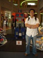Optimus & me.