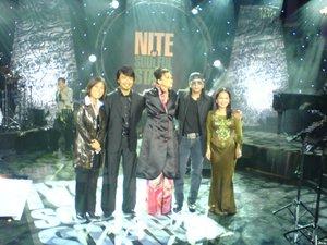 Ju, Anuar Zain, Kathy Ibrahim, Datuk Shake & Sheila Majid.