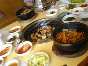 Korean BBQ lunch!
