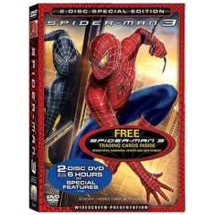 Spidey 3 on DVD! With free golf umbrella!
