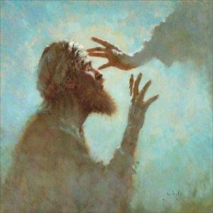 Blind Bartimaeus' healing.