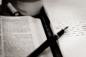 All you need is a Bible, a pen & a notebook!
