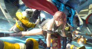 Lightning - the heroine in the upcoming Final Fantasy XIII.