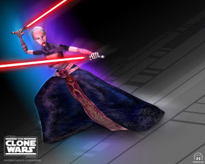 The malevolent Asajj Ventress.