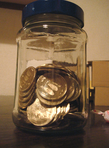A jar full of miracles.
