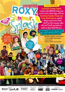 Seventeen Magazine's Roxy Summer Splash.
