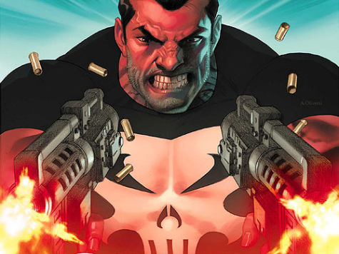 The Punisher always shoots first and asks questions later. :P