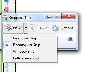 Windows 7's Snipping Tool.
