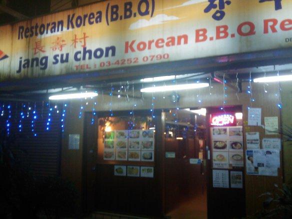 Jang Su Chon Korean BBQ!!!