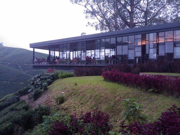 The BOH Sg. Palas tea house