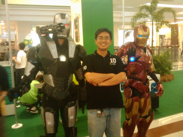 Iron Man, War Machine & Me