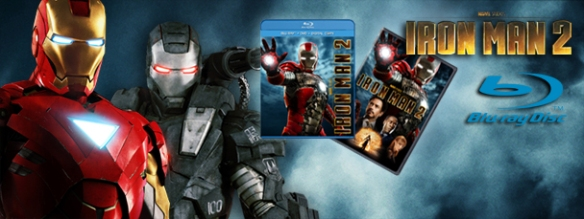 Iron Man 2 on Blu-Ray!