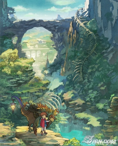 The beautiful world of Ni no Kuni