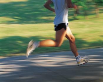Running, running, running.