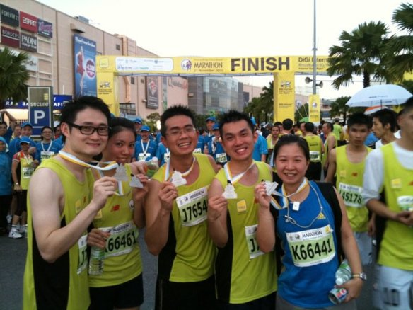 The 10KM Race Finishers