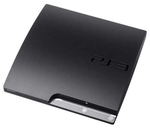 PS3 Slim (Black)