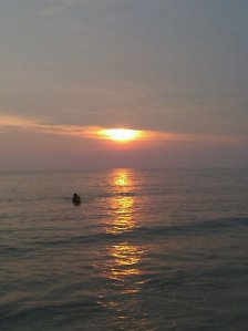 Sunset in Teluk Kemang