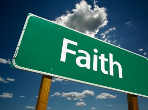 We need reminders to keep on having faith