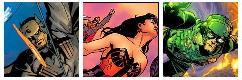 Batman, Wonder Woman & Green Lantern